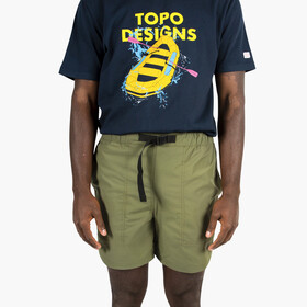Topo Designs River Shorts Lightweight Men, olive